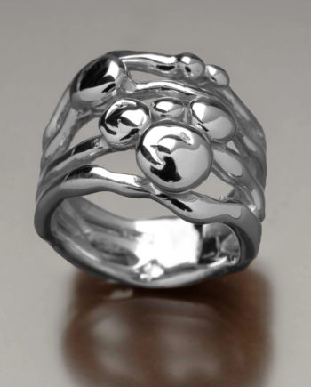 Pebble Ring Sterling Silver