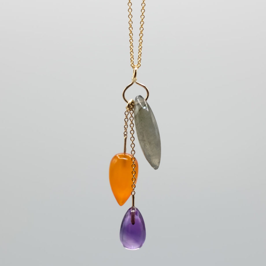 Colored Gems Necklace