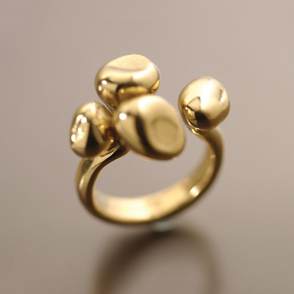 Sheila Corkery Mushroom Ring